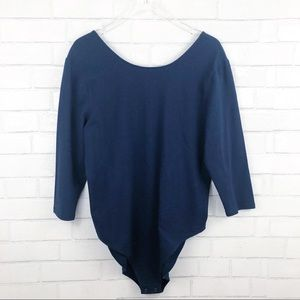 Gap Fitted Stretch Tee One Piece Bodysuit